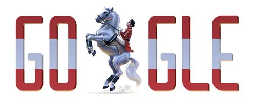 Google-Doodle: Österreichischer Nationalfeiertag