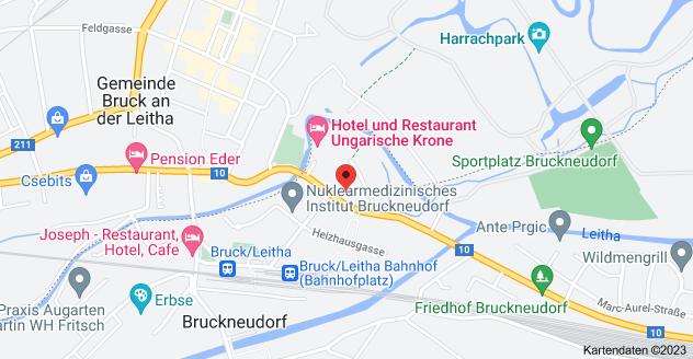 Karte von Parndorfer Str. 11, 2460 Bruckneudorf
