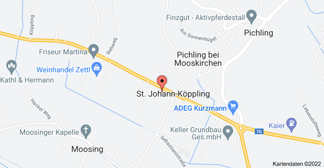 Karte von Packerstraße 189, 8561 Pichling bei Mooskirchen